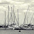 A Mess of Masts by Serenitas