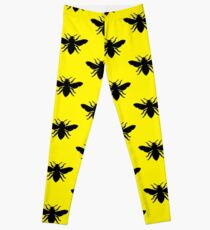 Bee Silhouette Leggings