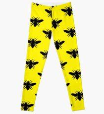 Bee Silhouette Leggings