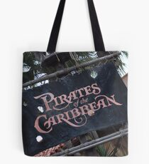 Pirates of the Caribbean Tote Bag