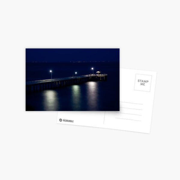 Miniature Pier Postcard