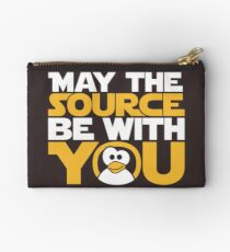 May The Source Be With You - Tux Edition Studio Pouch