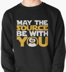 May The Source Be With You - Tux Edition Pullover