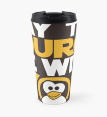 May The Source Be With You - Tux Edition Travel Mug