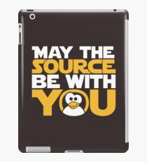 May The Source Be With You - Tux Edition iPad Case/Skin