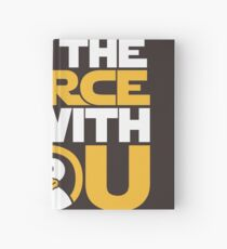 May The Source Be With You - Tux Edition Hardcover Journal