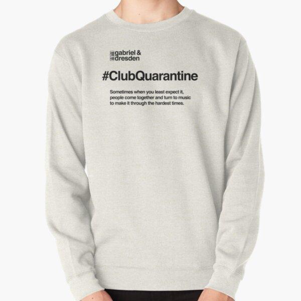 Gabriel & Dresden #ClubQuarantine Black Logo Pullover Sweatshirt