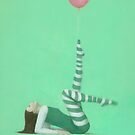 The Pink Balloon I by stevemitchell