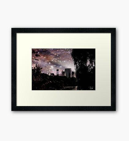 My New York © Framed Print