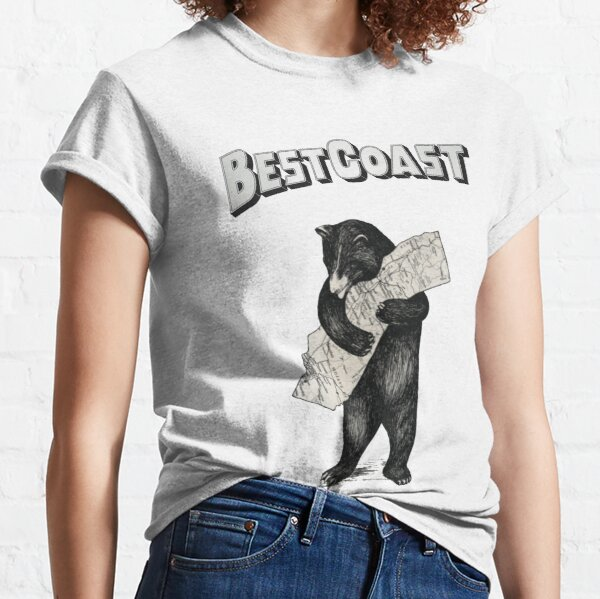 Best Coast Bear Classic T-Shirt