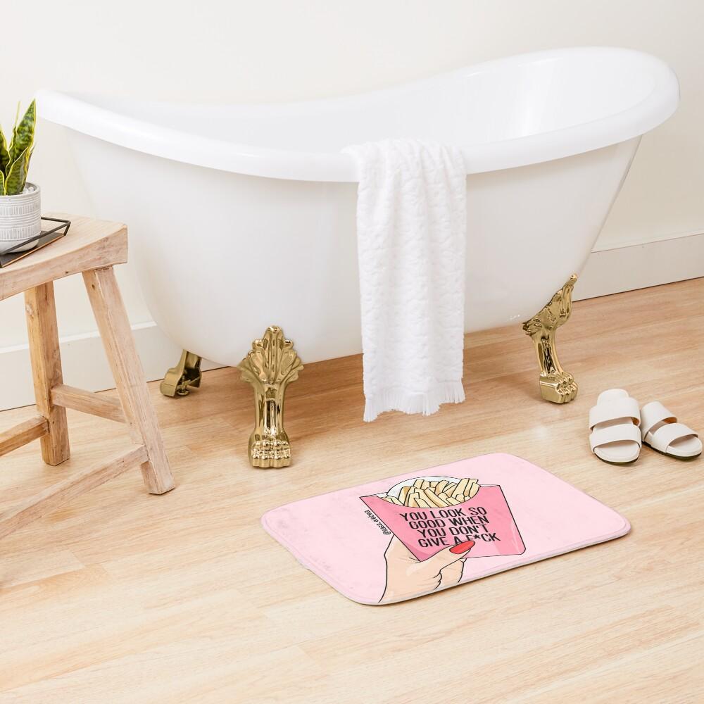Look good by Sasa Elebea Bath Mat