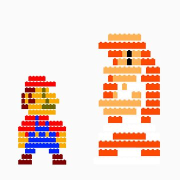 You complete me 8-bit mario by McLovely