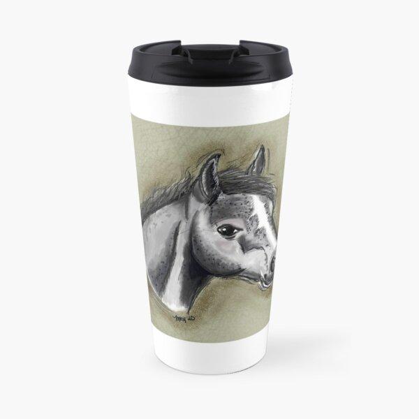 Horse digital art  Travel Mug