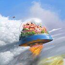 Flying pigs by Roman Shipunov