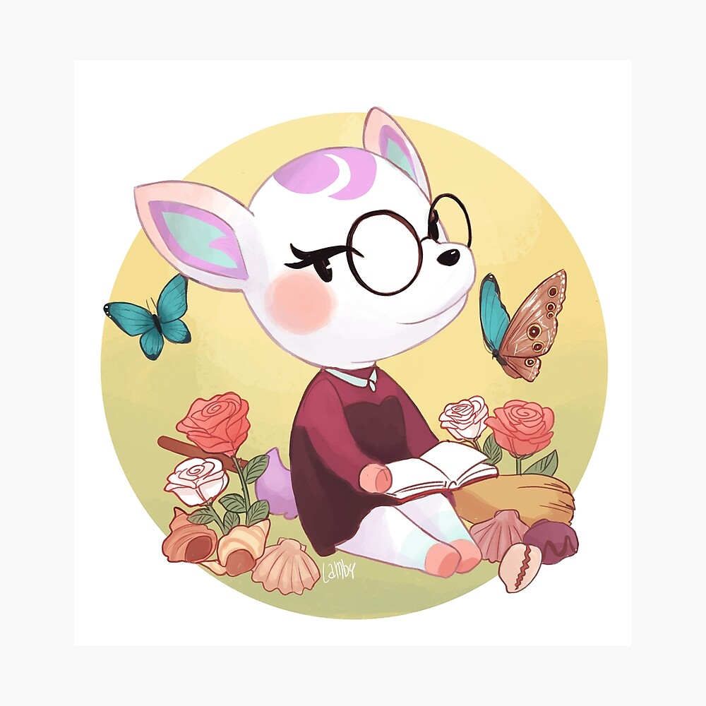 Didi Diana Animal Crossing Poster By Lambyrinth Redbubble