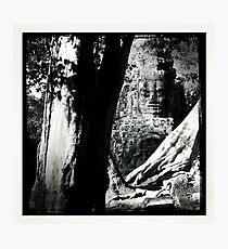 Cambodian Ruins Photographic Print