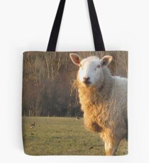 A sheep and 4 lapwing Tote Bag