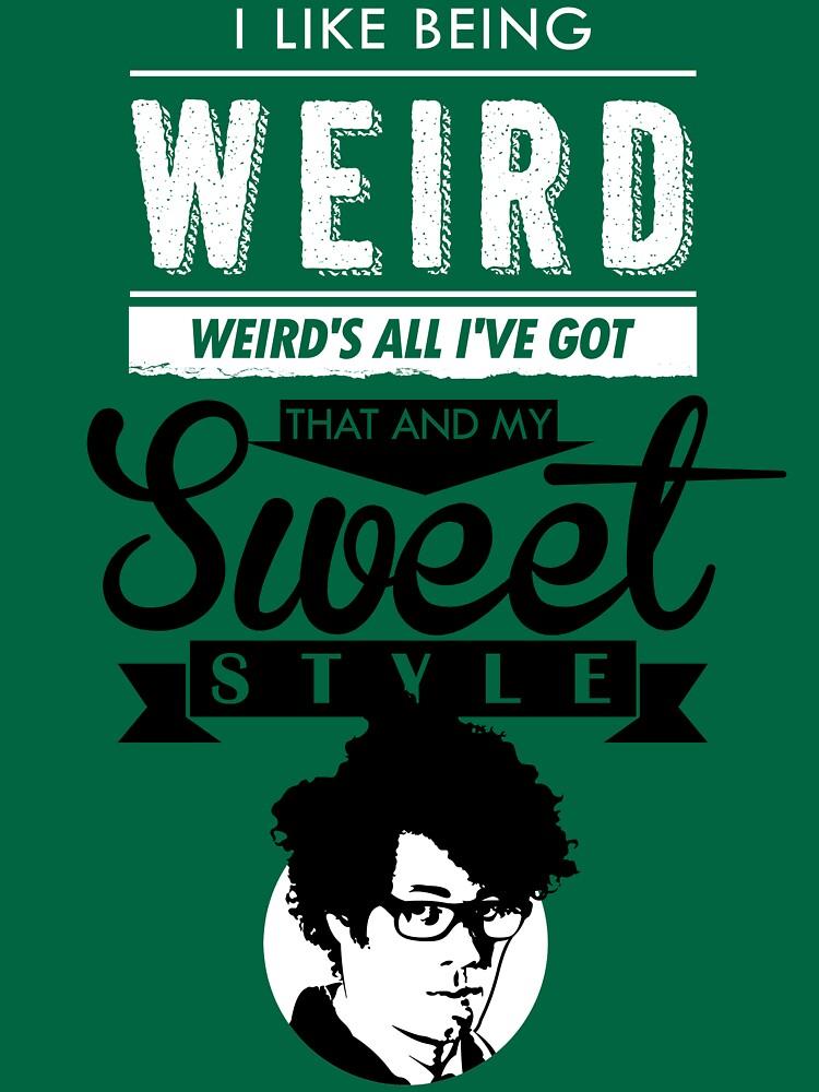 TShirtGifter presents: I like Being Weird  | Unisex T-Shirt