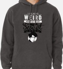 I like Being Weird  Pullover Hoodie