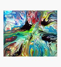 Abstract Fluid Painting 55 Photographic Print