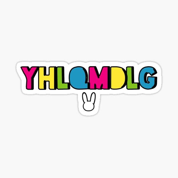 Bad Bunny - YHLQMDLG Sticker