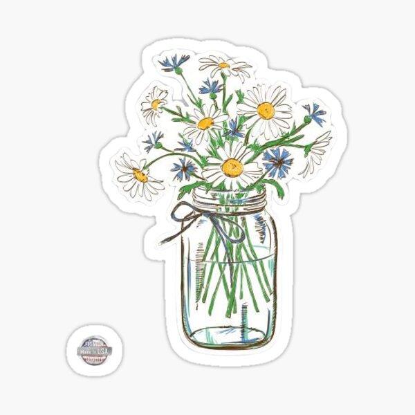 cute flower sticker :) Sticker
