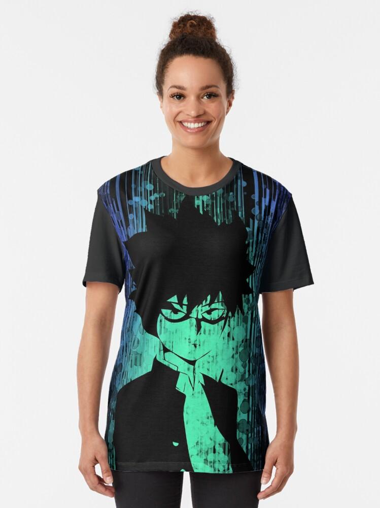 Alternate view of Mob 100 Dark Side Graphic T-Shirt