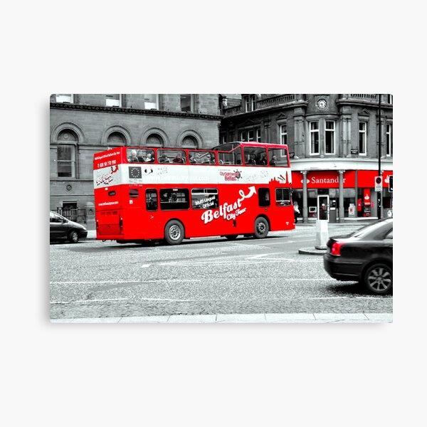 Belfast City Tour Canvas Print