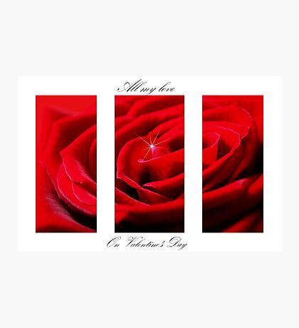 Valentine's Photographic Print