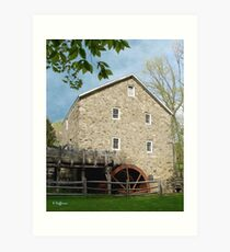 Gristmill in Spring Art Print