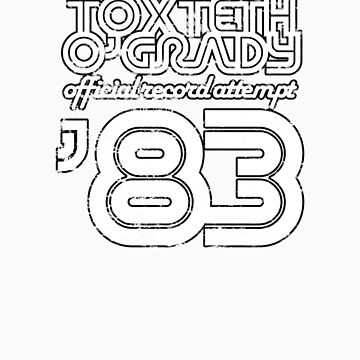 Toxteth O'Grady, official record attempt 1983 by brianftang
