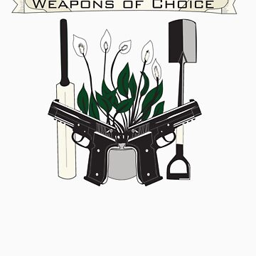 Weapons Of Choice (Pegg,Frost,Wright) by CrowCragg