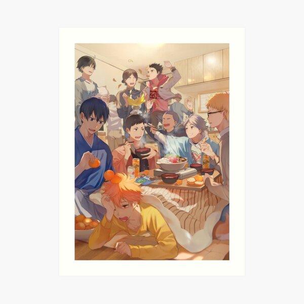 Karasuno Team Art Print