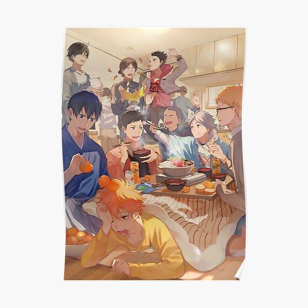 Karasuno Team Poster