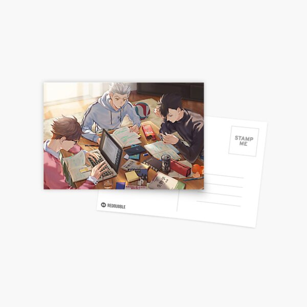 Haikyuu Rivals Postcard