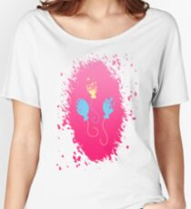 Pinkie Pie's Cutie Mark Women's Relaxed Fit T-Shirt