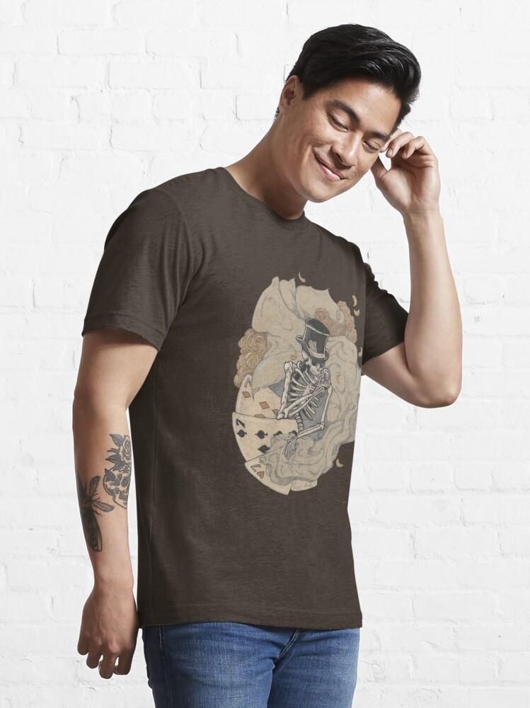 Alternate view of Gambler's Twist Essential T-Shirt