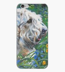 Soft-coated Wheaten Terrier Fine Art Painting iPhone Case