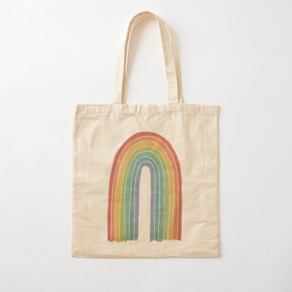 Flawed Rainbow Cotton Tote Bag