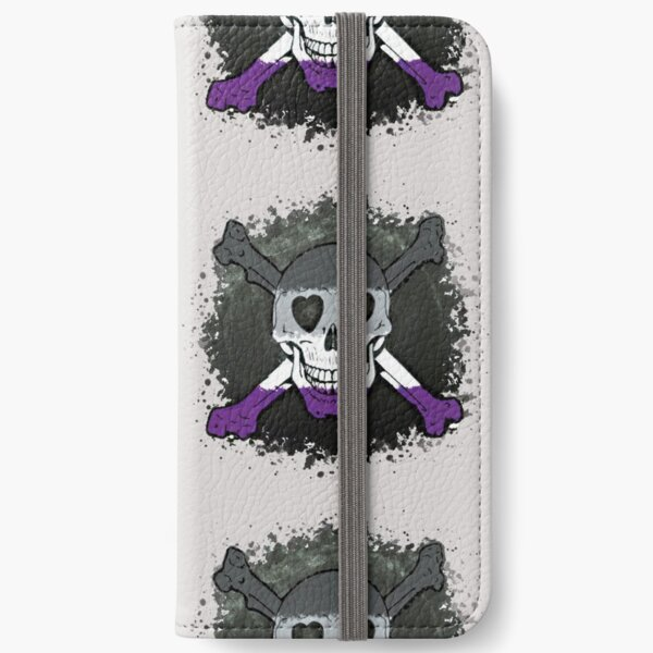 Asexual Skull iPhone Wallet