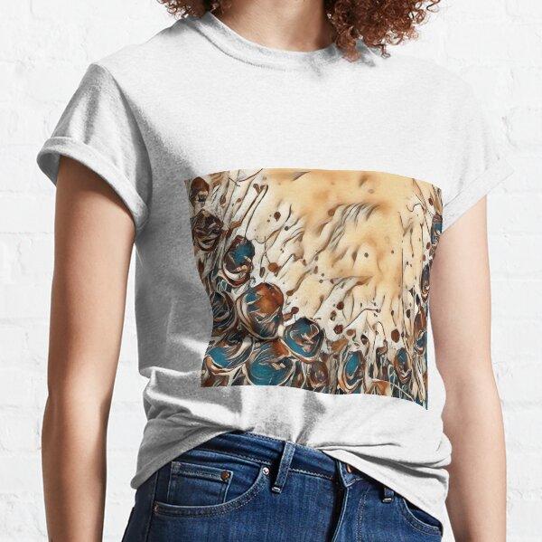 Poppy Garden 2 designed & created by (c) Janet Watson Art   Classic T-Shirt