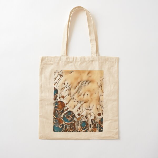 Poppy Garden 2 designed & created by (c) Janet Watson Art   Cotton Tote Bag