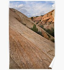 Sound of Silence Sandstone Poster