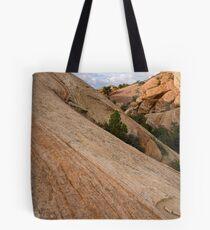 Sound of Silence Sandstone Tote Bag