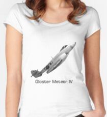 Gloster Meteor IV Women's Fitted Scoop T-Shirt