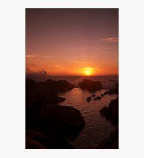 Wyadup Sunset Photographic Print