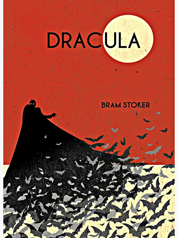 "Dracula Book Cover Art"" Art Board Print by booksnbobs 
