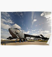 "B52 ""The Last Laugh"",Avalon Airshow,Australia 2015 Poster"
