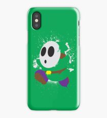 Splattery Shy Guy Style 2 iPhone Case