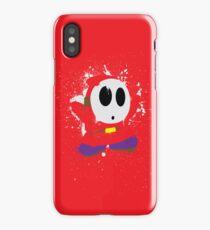 Splattery Shy Guy Style 1 iPhone Case/Skin